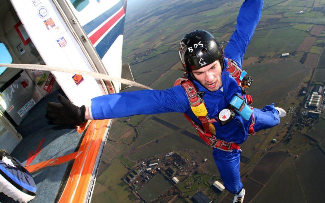 La création d'entreprise, c'est comme sauter en parachute…